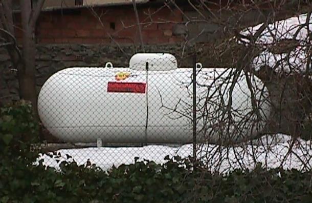 Un dipòsit d'hidrocarburs a Encamp.