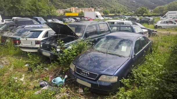 Compromís denuncia que el dipòsit de vehicles de  la Generalitat és il·legal