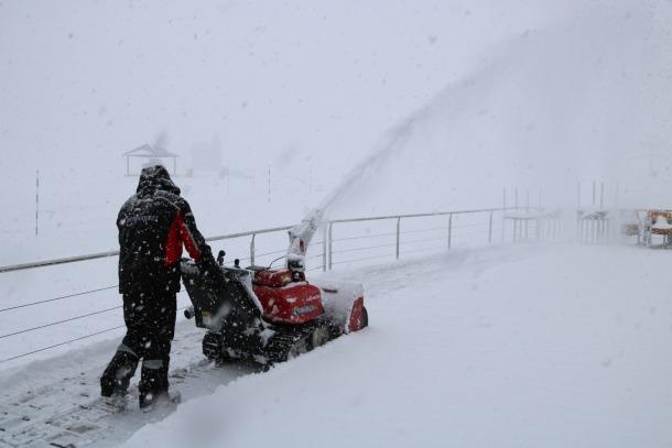 La neu arriba a la Val d'Aran i el nord del Pallars Sobirà després de setmanes sense precipitacions
