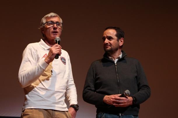 Manuel Olivera, amb el conseller de Turisme i Esports d'Ordino, Jordi Serracanta.