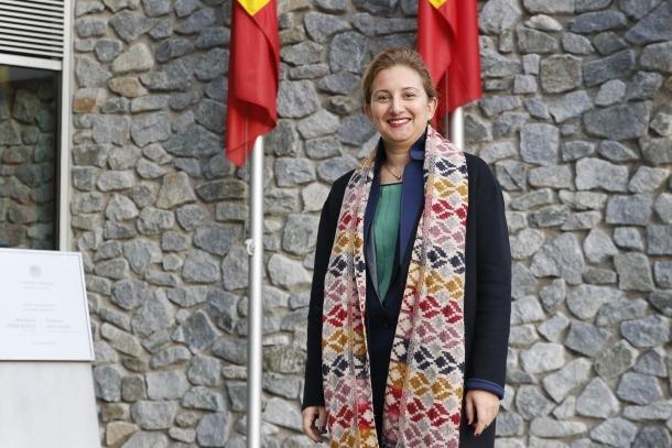 La vicepresidenta de la Internacional Socialista de Dones (ISD), Hella Ben Youssef.
