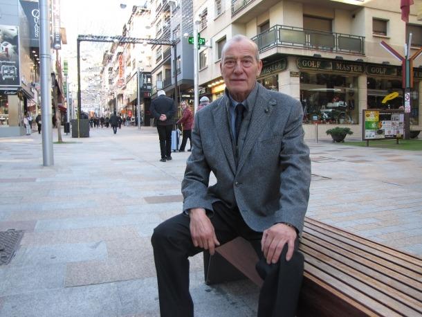 El candidat de Demòcrates, Miquel Aleix.