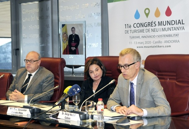 La presentació de l'11a edició del congrés va tenir lloc ahir a la tarda al Comú de Canillo.