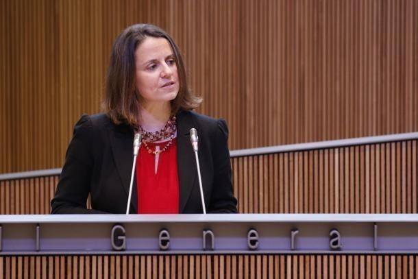 La consellera del PS, Rosa Gili.