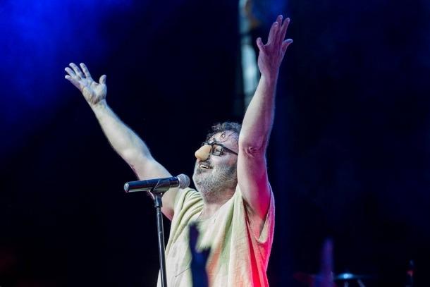 El cantant de Los Toreros Muertos, Pablo Carbonell.