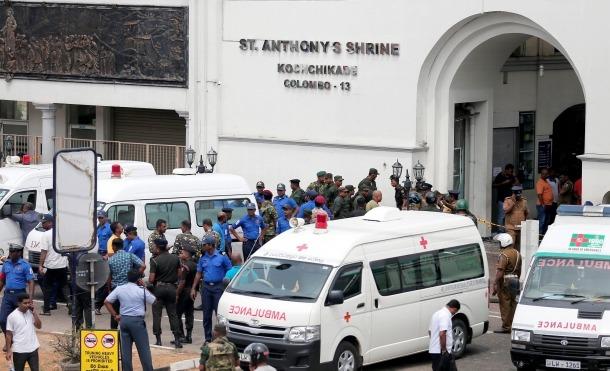 La cadena d'atemptats de Sri Lanka va deixar 321 morts.