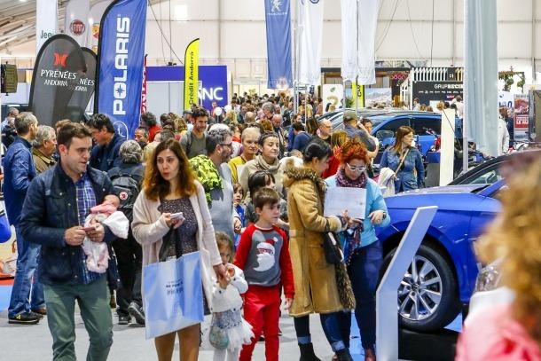 La Fira d'Andorra la Vella va aplegar un bon nombre de visitants.