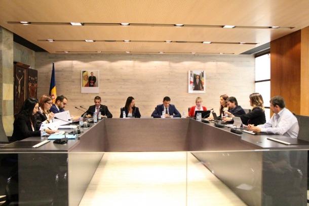 El consell del Comú d'Ordino.