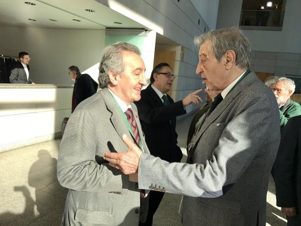 Jaume Bartumeu assisteix a un acte a València per promoure l'Arc Mediterrani