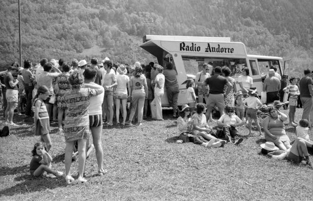 Dia del càmping organitzat per Pyrénées (1972).