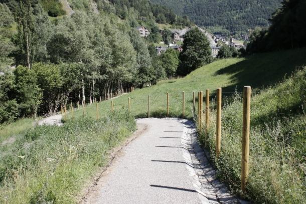 La xarxa de camins rals de fons de vall estarà acabada al 2021