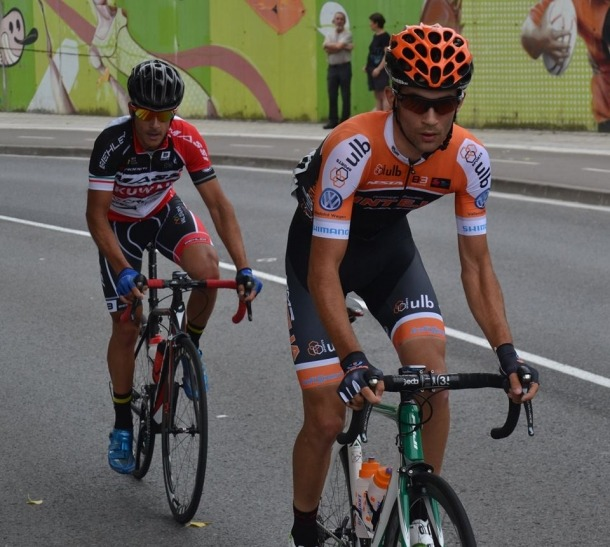 Julio Pintado debuta en el Massi-Kuwait Cycling Project