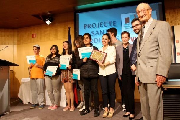 El premi Civisme per a la Joventut guardona la valentia d'una jove