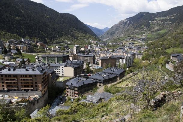 Vista de la parròquia d'Encamp.