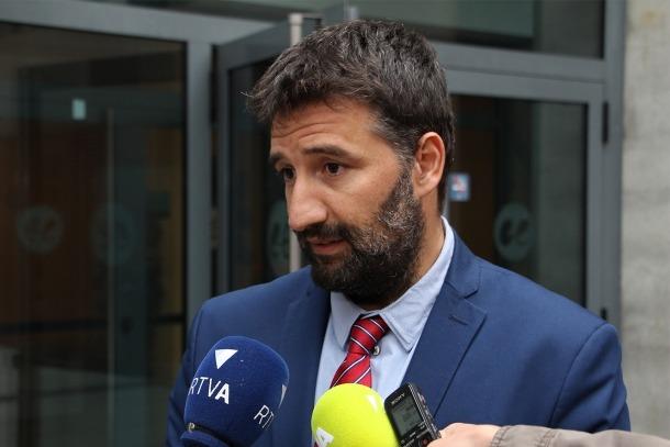 El seu secretari general de Demòcrates per Andorra (DA), Esteve Vidal.