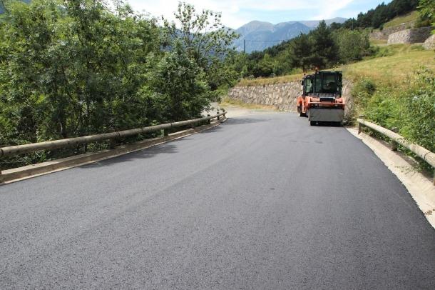 El Govern adjudica els treballs de pavimentació per 4,4 milions