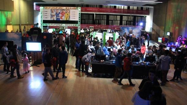 Èxit de visitants al Saló del Videojoc