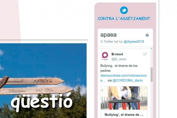 La nova eina es pot consultar a través del web de l'Apaea.