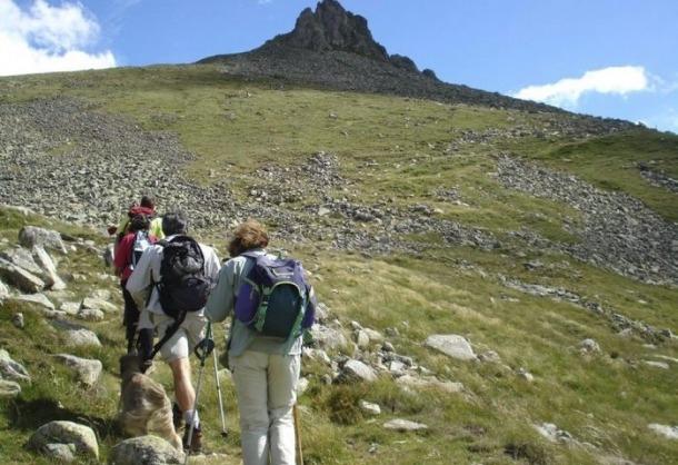 El senderisme és un dels atractius de les comarques pirinenques.