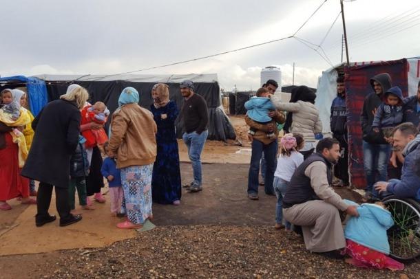 """Albert Llovera, """"impressionat"""" pels programes que porta a terme l'Unicef a Jordània"""