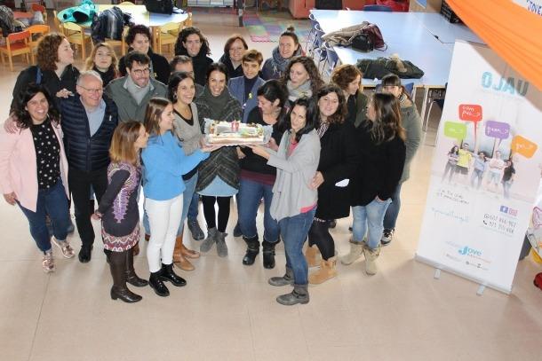 L'Escorxador va acollir ahir l'acte de celebració del desè aniversari de l'Oficina Jove.