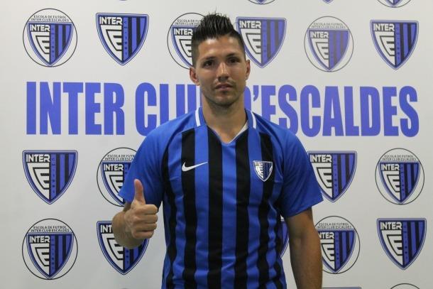 'Bruninho', amb l'Inter Club Escaldes.