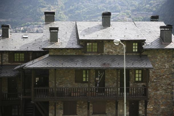 Imatge de l'habitatge on es va produir l'assassinat