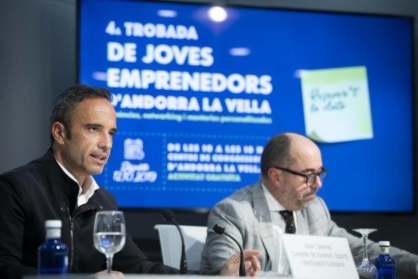 Cabanes i Montes de Oca van presentar ahir a la tarda la jornada.