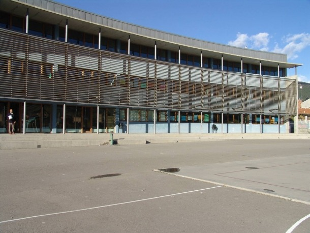 L'institut Joan Brudieu, a la capital alturgellenca.