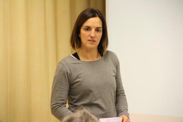 Meritxell Agromayor, fisioterapeuta.