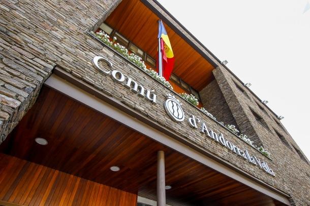 El Comú d'Andorra la Vella.