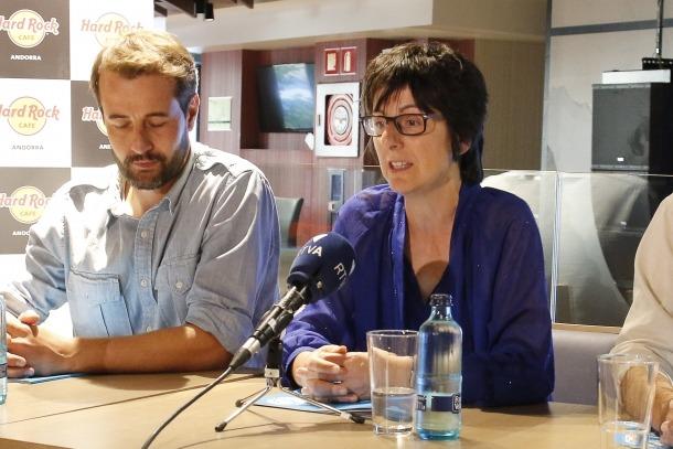 Presentació del concert de Quim Salvat, una de les activitats solidàries del 2018.