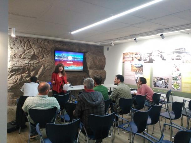 La reunió es va fer al centre d'interpretació del Parc de les Valls del Comapedrosa.