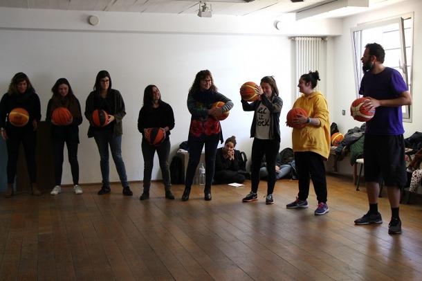 Alguns dels educadors socials que han pres part en la formació.