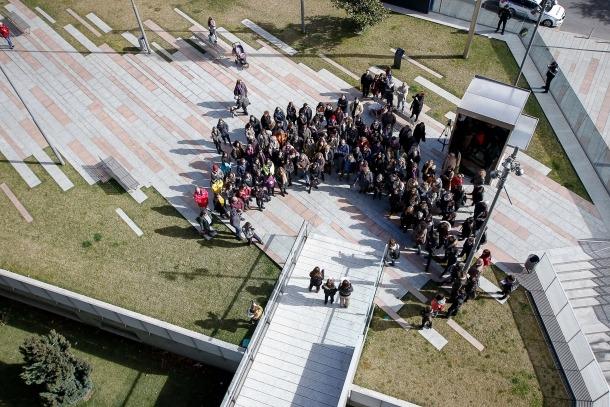 El 8 de març del 2018, AFdA va fer la seva primera convocatòria a la plaça Lídia Armengol.