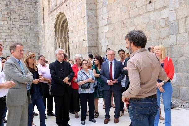 La catedral d'Urgell llueix en tota la seva esplendor després de les obres