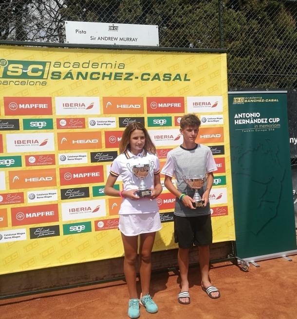 Vicky Jiménez venç a Barcelona