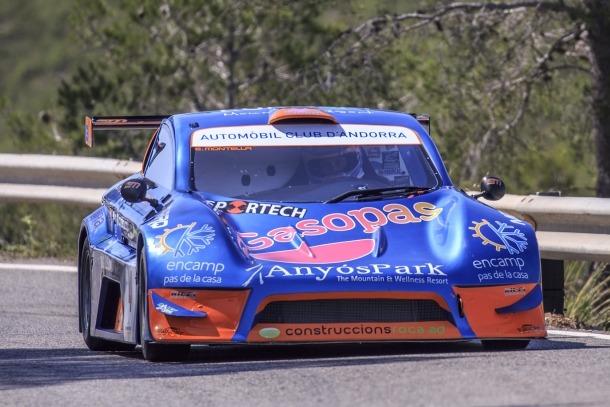 Edgar Montellà assoleix el segon lloc a Valdezcaray