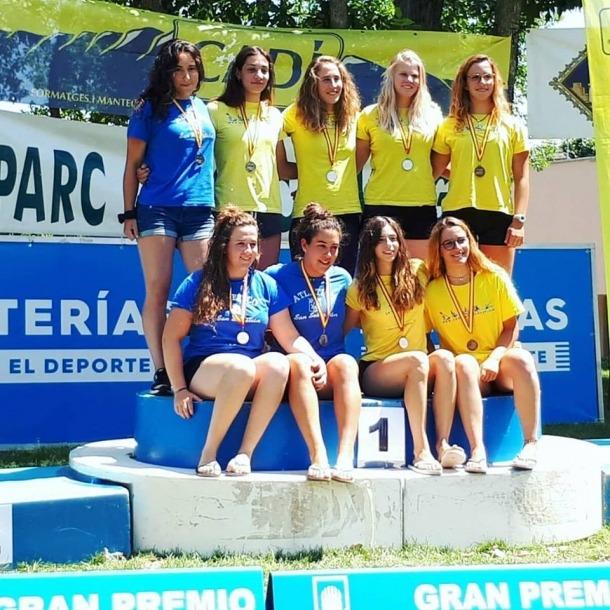 Monica Doria es penja la plata a l'Espanyol de C1 a la Seu