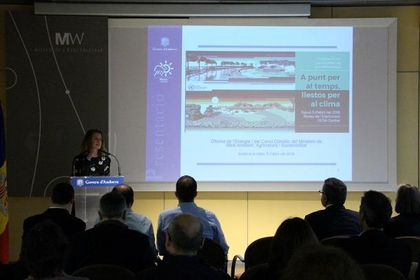 La ministra de Medi Ambient, Agricultura i Sostenibilitat, Sílvia Calvó ha donat el tret de sortida a la celebració.
