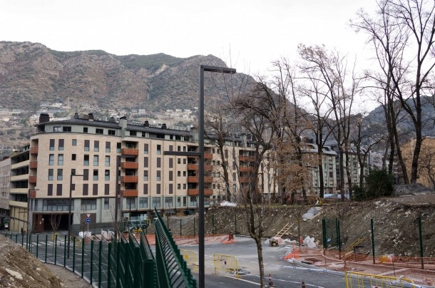 Les voravies del carrer Sant Antoni s'ampliaran.