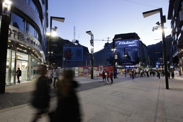 La parcel·la d'Andorra Telecom on s'havia de construir The Cloud.