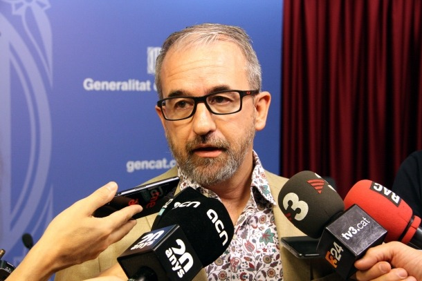El secretari general de Treball, Afers Socials i Famílies, Josep Ginesta.