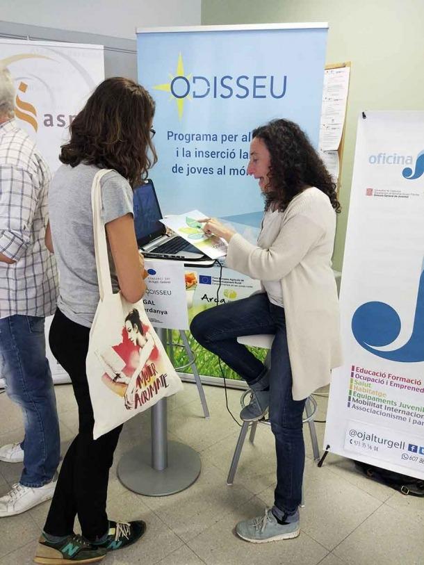 El programa Odissseu promou la inserció laboral de joves al món rural.