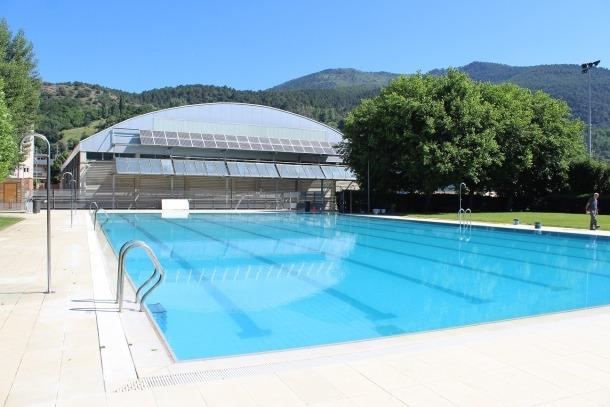 La piscina municipal de la Seu.
