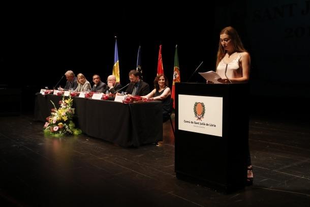 Andorra, Sant Julià, premis Sant Jordi, ambaixada, Maria Moliner
