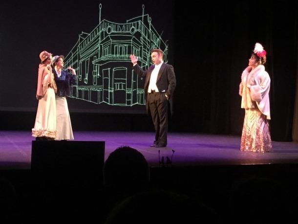 El quartet de les grisettes amb Roberto i Cosette a 'Chico, chico' va ser molt aplaudit.