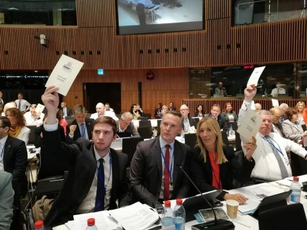 Padreny, Costa i Codina conformen la delegació andorrana a l'OSCE.