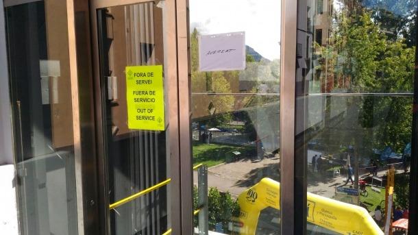 Compromís denuncia les avaries de l'ascensor del parc del Segre