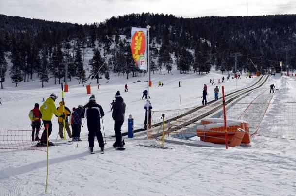 FGC preveu tancar la temporada amb un 6% més d'esquiadors Port Ainé
